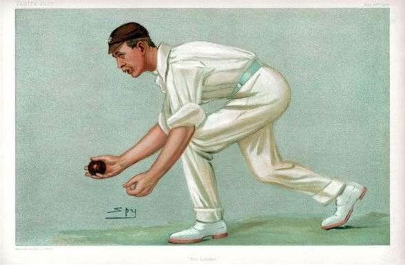 Who invented overarm bowling in cricket?