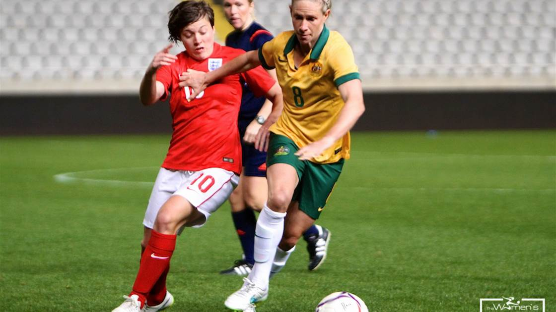 Taylor hat-trick sees England account for Australia 3-0