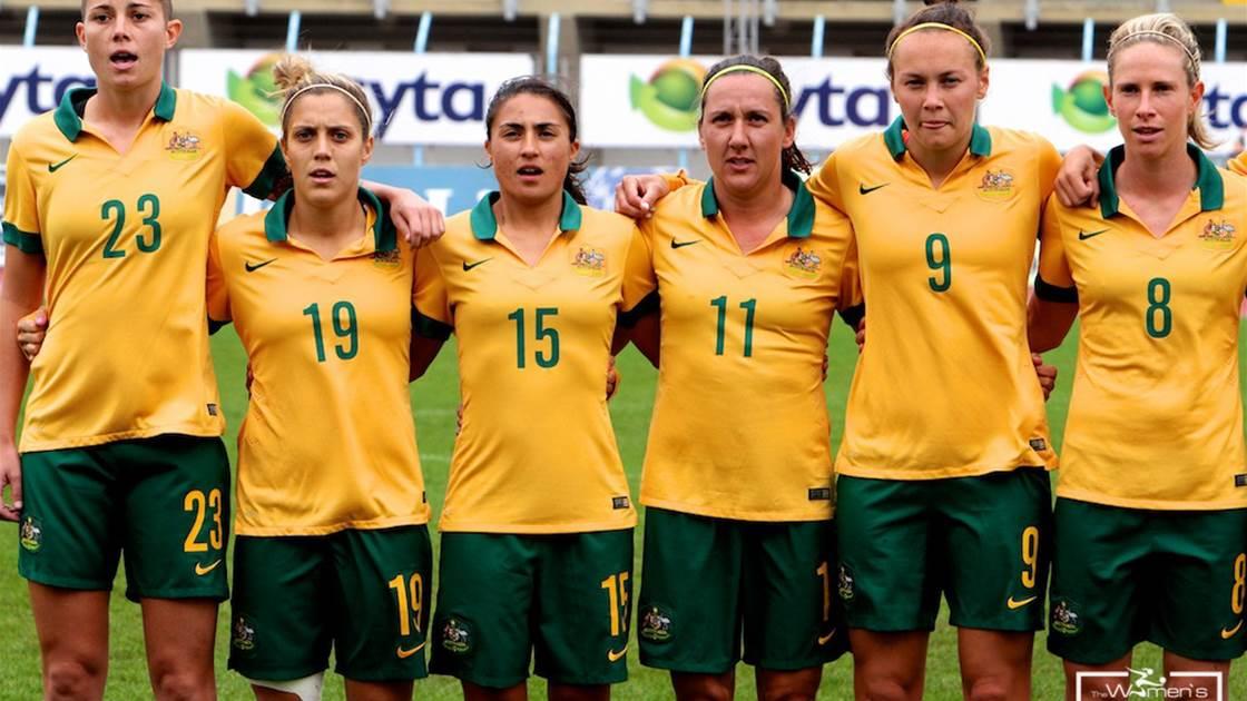 Details confirmed for Matildas European internationals