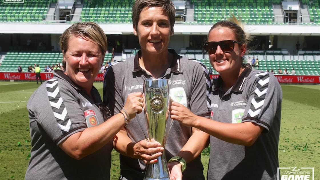 Announcement of new Canberra United coach imminent