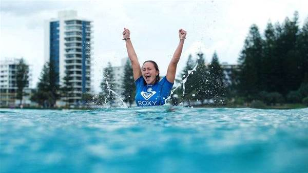 Carissa Moore Wins the Roxy Pro