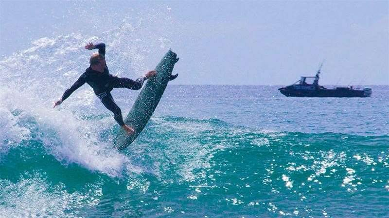Chippa Wilson's Shreds on a Foamie
