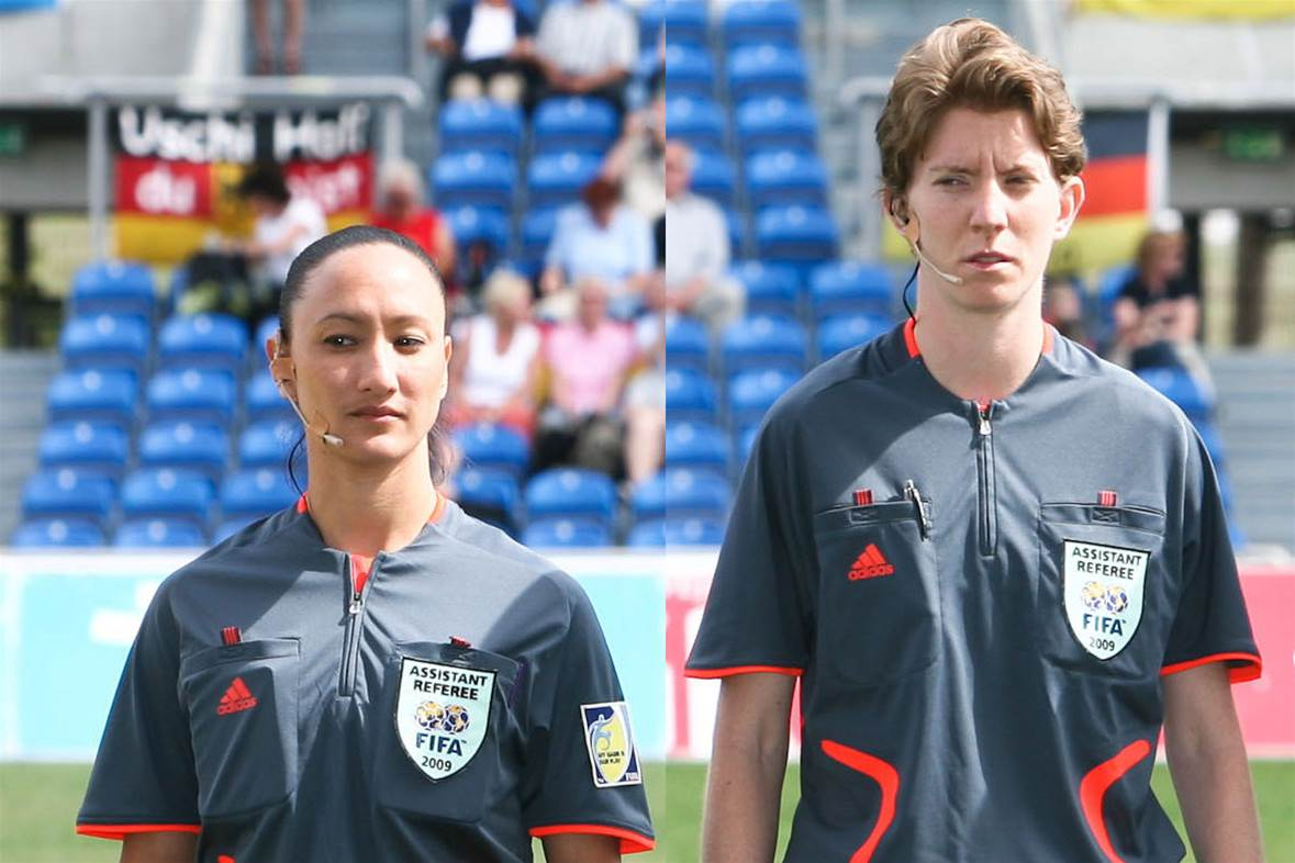 Sarah Ho and Allyson Flynn to officiate at World Cup
