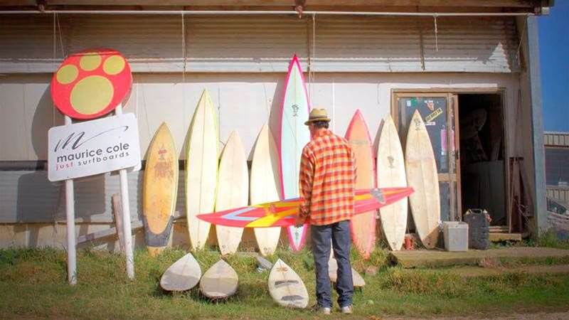 Maurice Cole Talks Surfboard Design