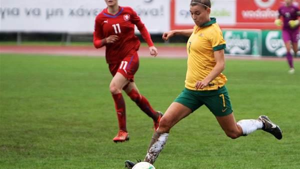 Matildas continue to build to World Cup