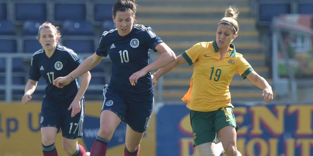 Australia finish European tour with 1-1 draw with Scotland