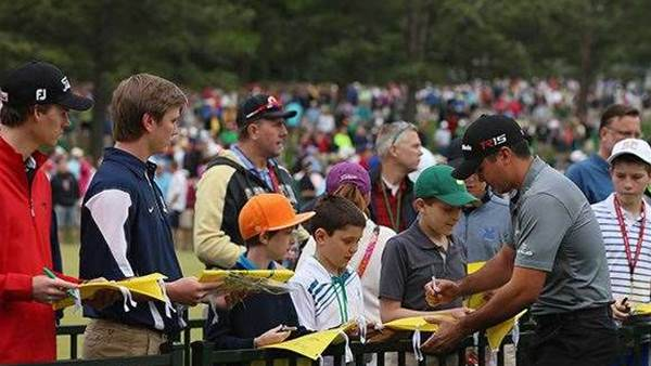 MASTERS 2015: Practice makes perfect