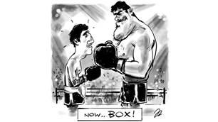 Friday Heckle: Jay Davies KO's the World Champ