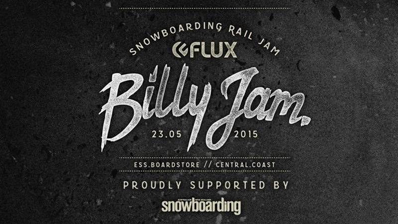 ESS Boardstore Flux Billy Jam - Saturday May 23rd