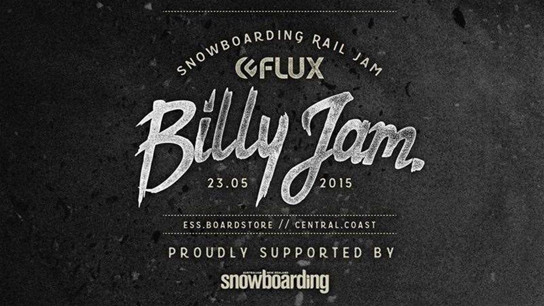 ESS Boardstore Flux Billy Jam - Saturday May 23rd