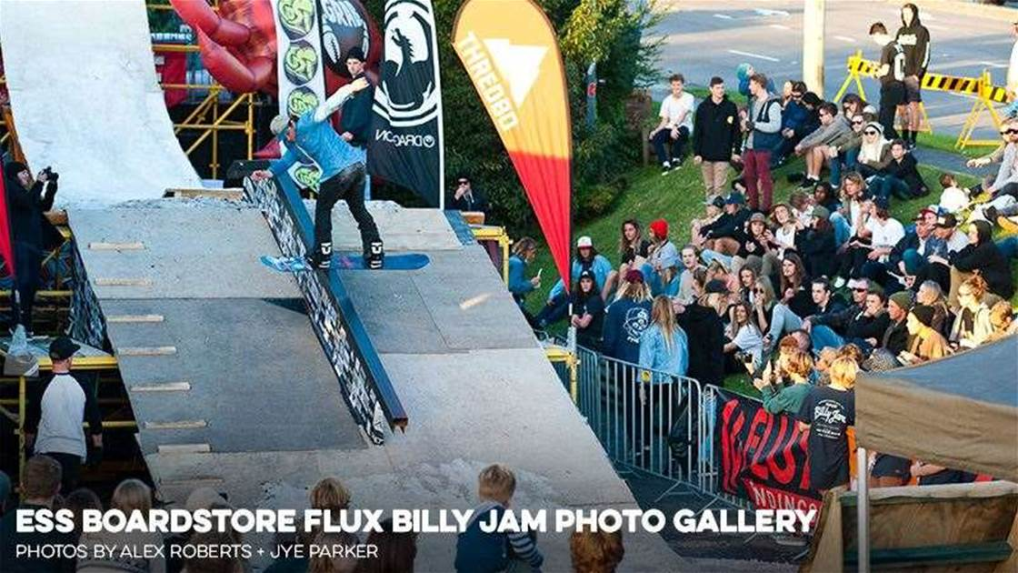 ESS Boardstore Flux Billy Jam Photo Gallery