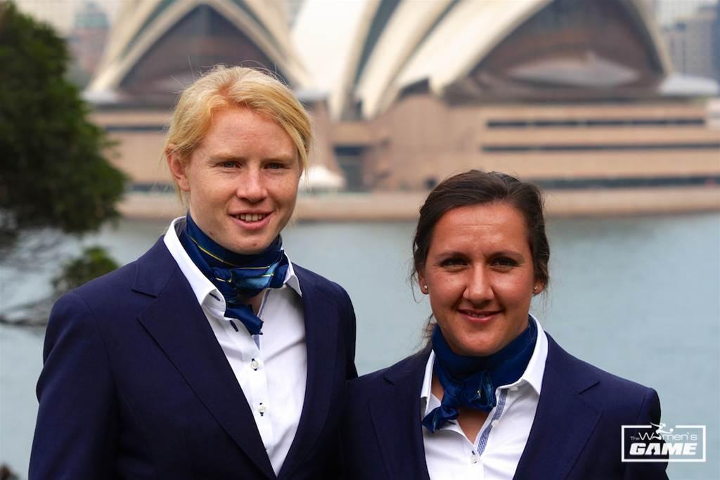 Clare Polkinghorne and Lisa De Vanna named Matildas co-captains