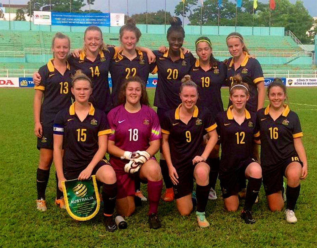 Young Matildas through to AFF Championships semi finals