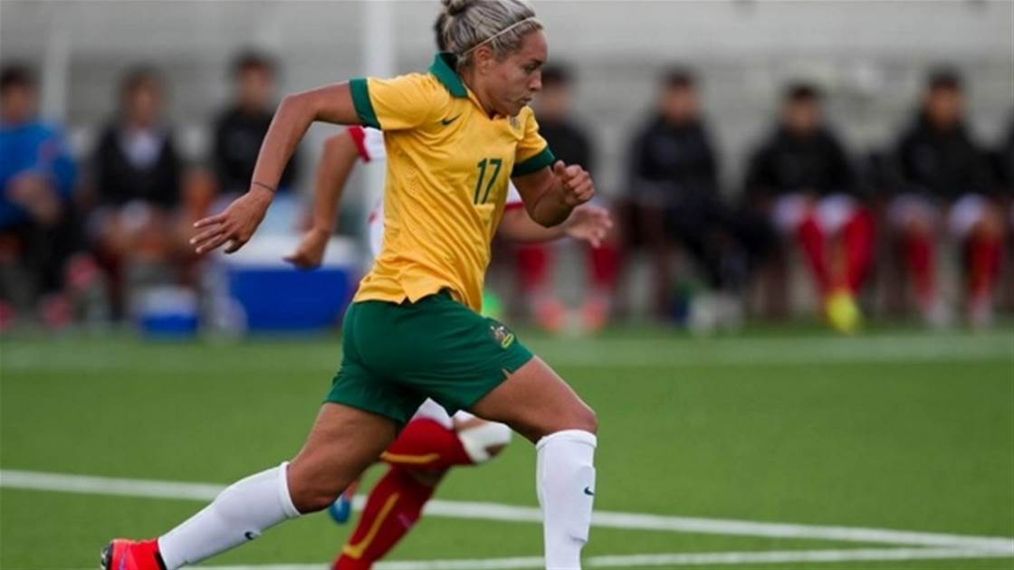 Matildas down Vietnam 4-0 in closed doors match