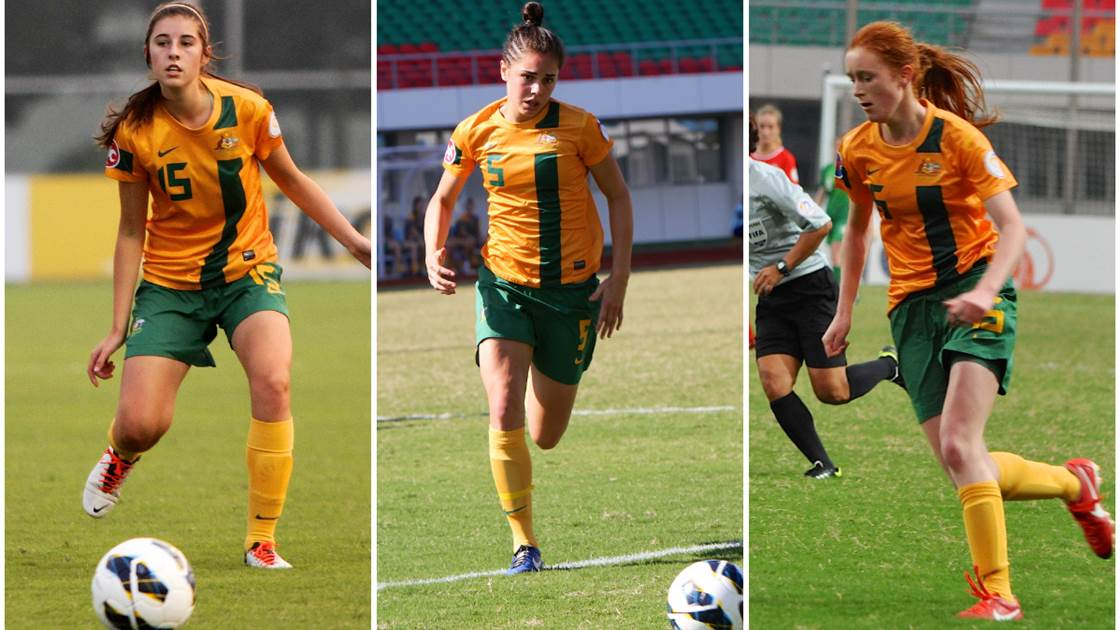 Young Matildas claim a 3-0 win over Thailand