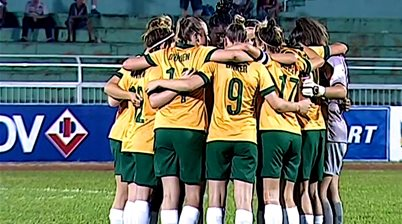 Young Matildas top Group A with perfect record