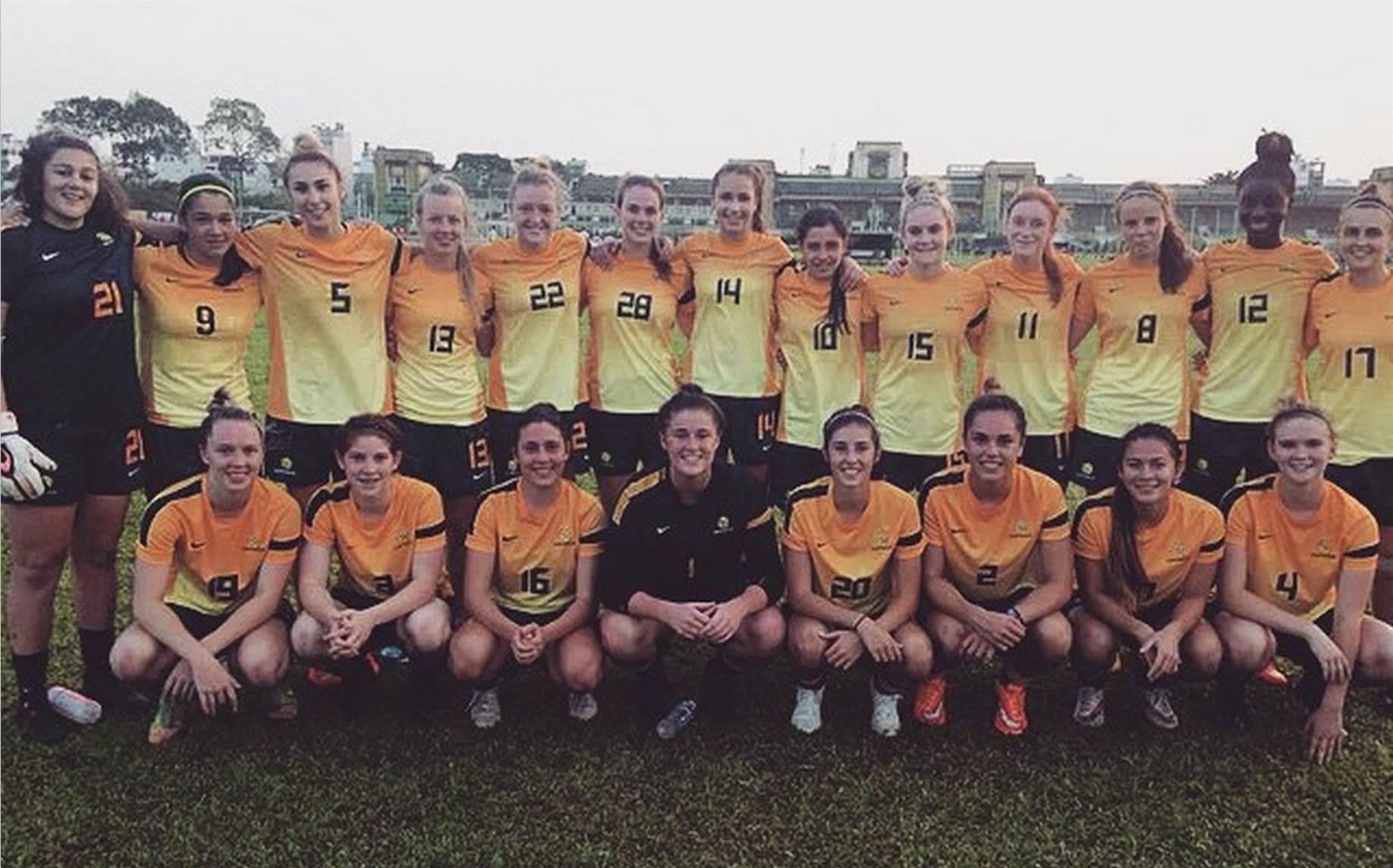 Young Matildas fall to Myanmar 1-0