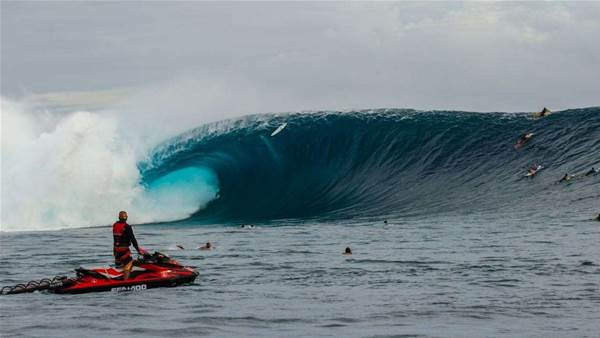 Classic Fiji Moments: Mark Healey and That Wave