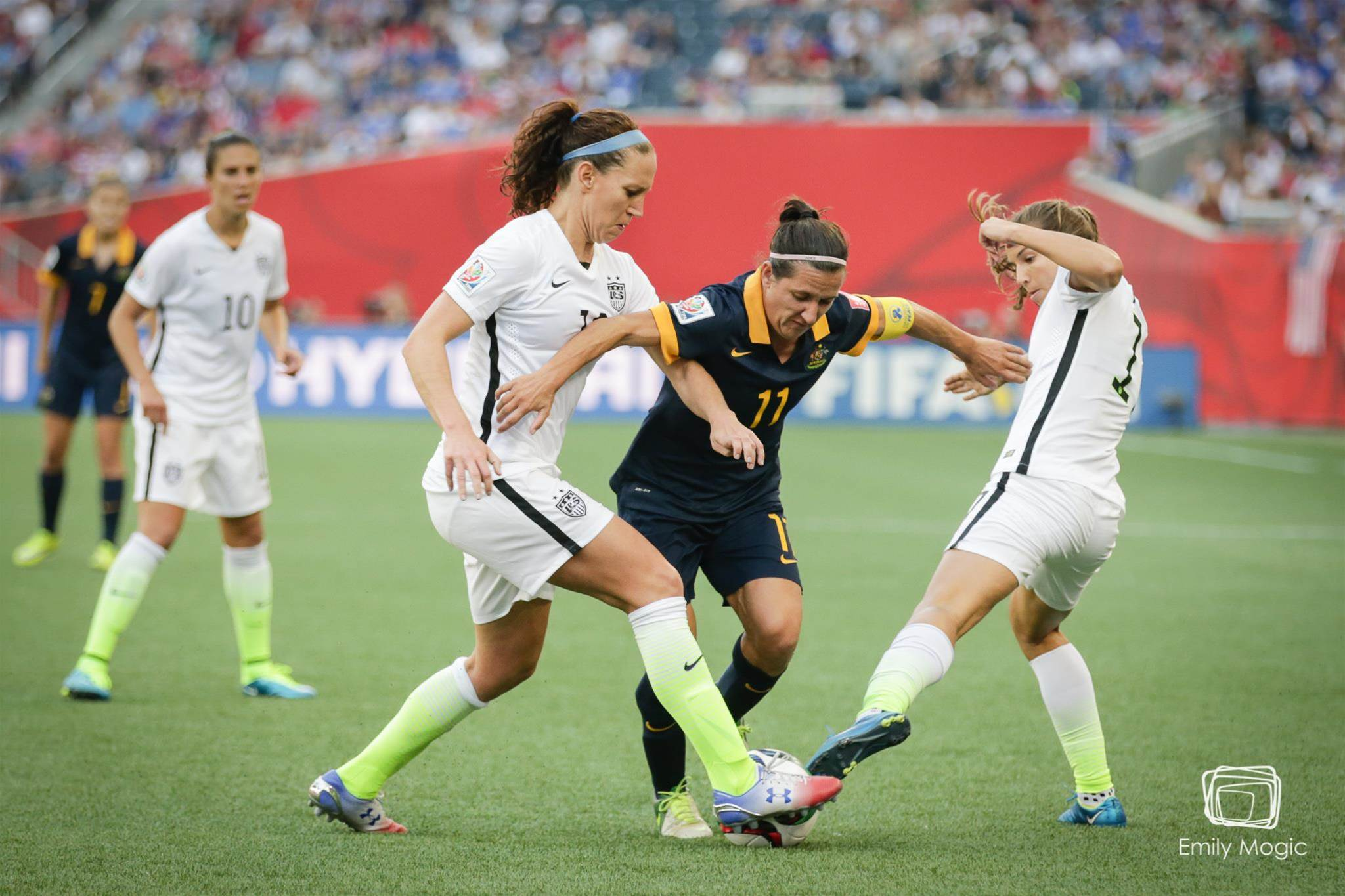 Match Report: USA v Australia