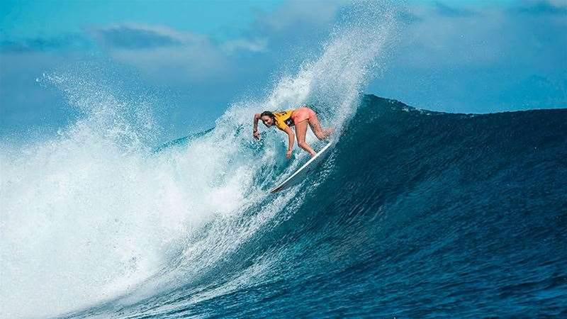 Cloudbreak Fires For Round One of the Women's Fiji Pro