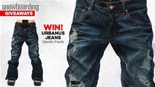 WIN! Urbanus Jeans Denim Pants