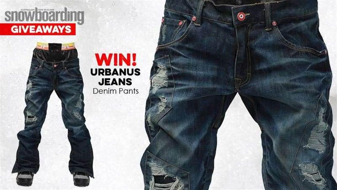 WIN! Urbanus Jeans Denim Pants