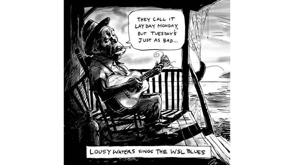 Friday Heckle: Lousy Waters Sings The WSL Blues