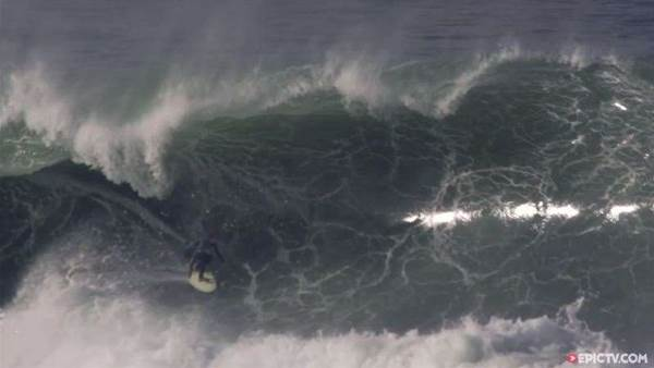 Benjamin Sanchis Tackles Thick Hossegor