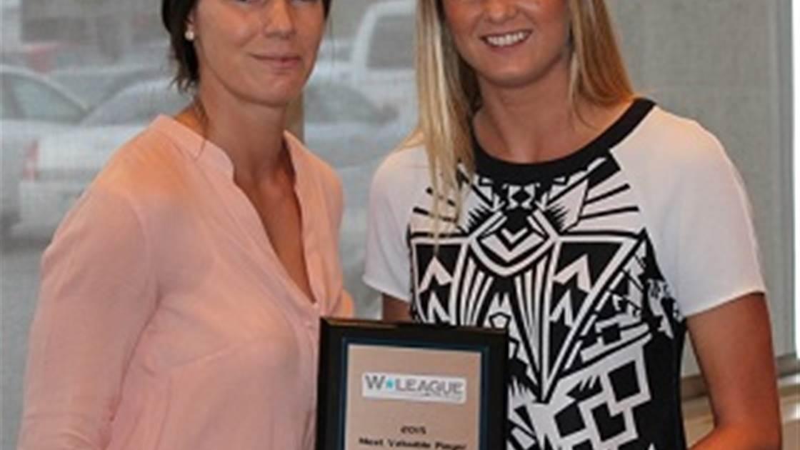 Tara Andrews named USL W-League MVP