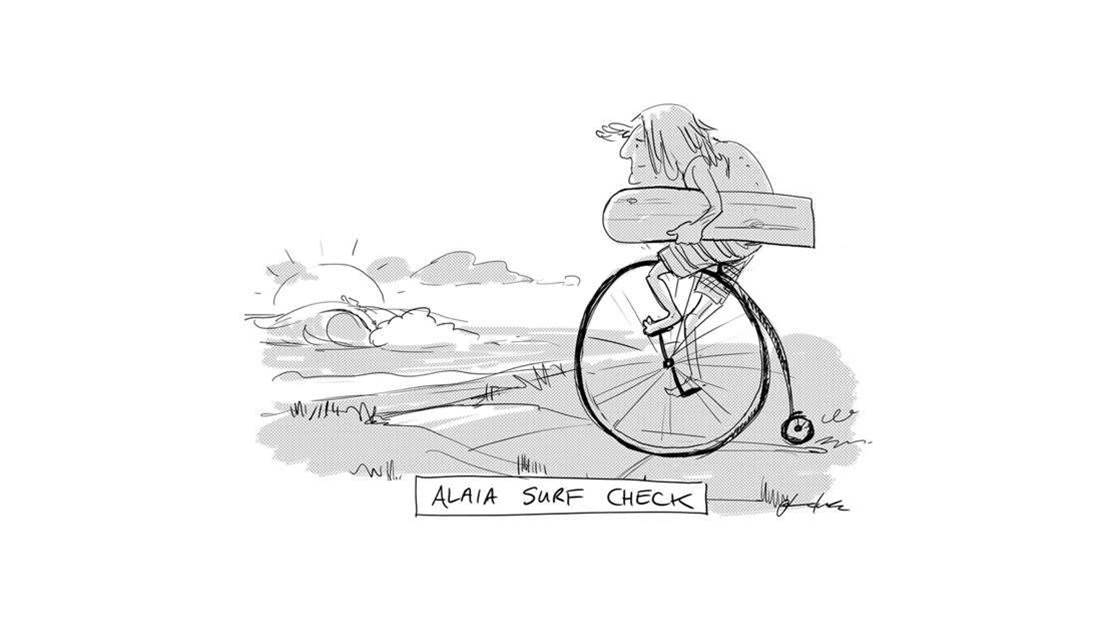 Friday Heckle: Alaia Surf Check