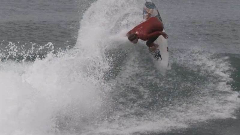 Dane Reynolds At Home With Hurricane Dolores