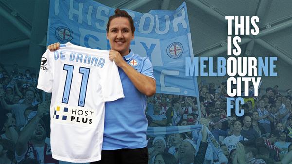 Lisa De Vanna signs for Melbourne City