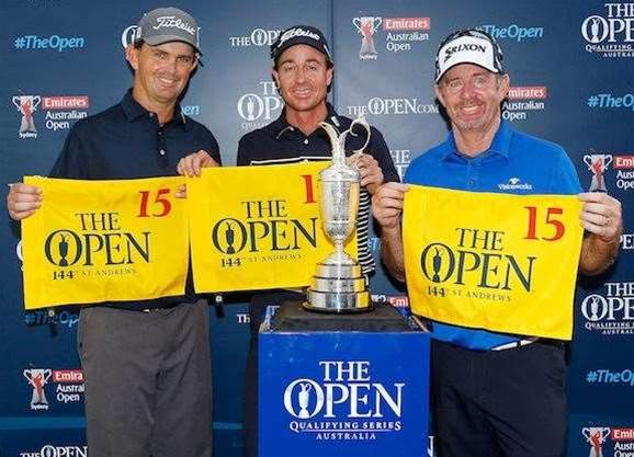 THE OPEN: Aussies hunting the jug