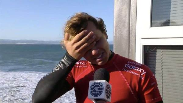 Surfers React To Mick Fanning's Shark Attack