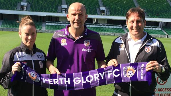 Bobby Despotovski and Collette McCallum to coach Perth Glory