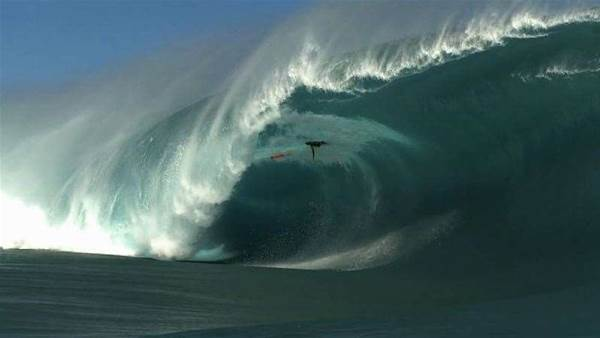 Teahupoo Madness From Last Week in the South Pacific