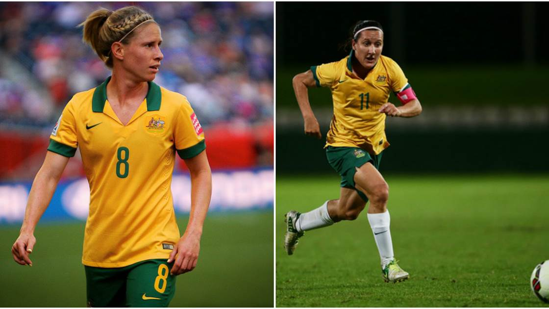 Lisa De Vanna and Elise Kellond-Knight selected in FIFA All Star team