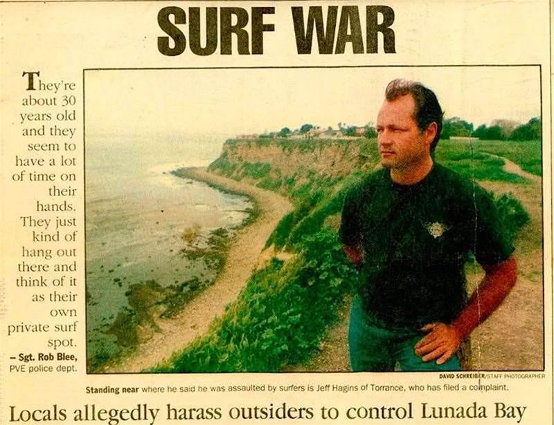 Surfer Turf Wars in California