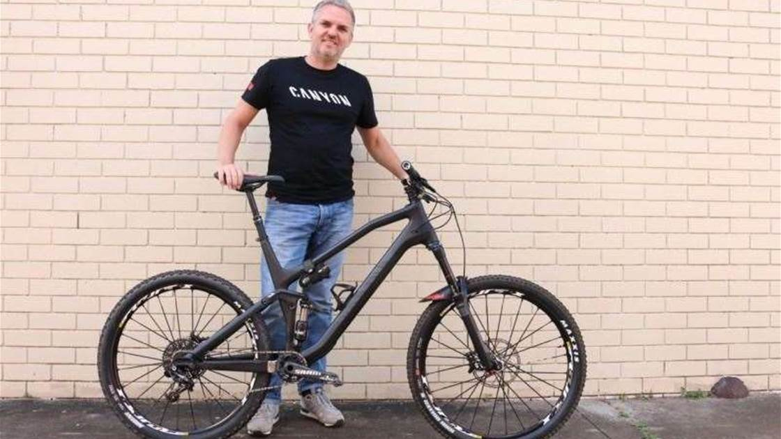 BIke Check: Darryl Moliere's Canyon Spectral