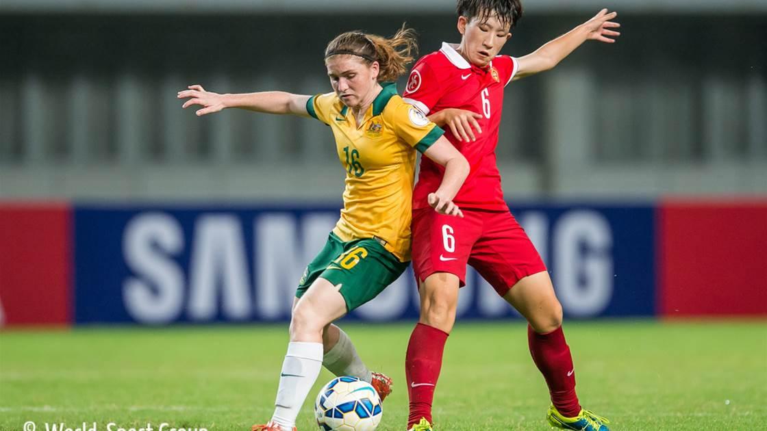 MATCH REPORT: Australia (U20) v China