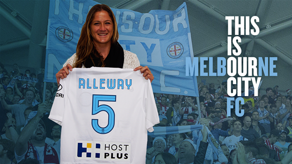 Melbourne City sign Laura Alleway
