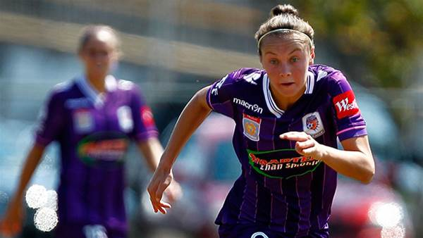 Caitlin Foord confirms Perth Glory commitment