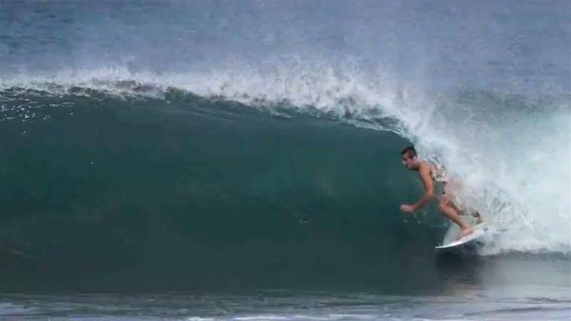 Kalani David Loosens Up in Nicaragua