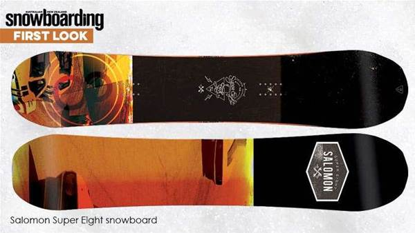 First Look – Salomon Super Eight board