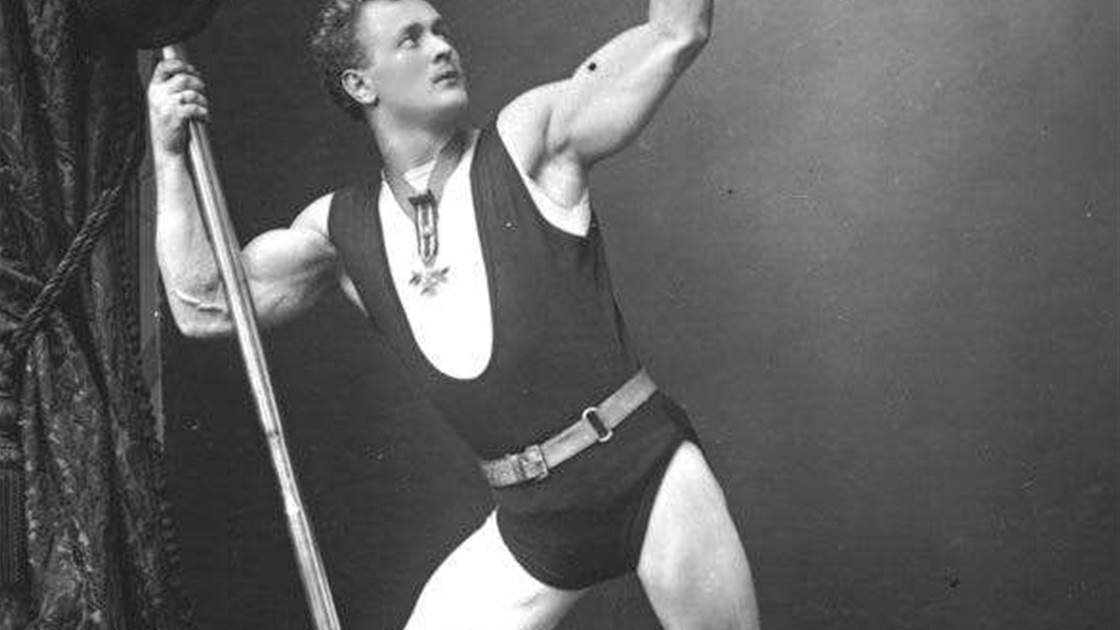 Eugen Sandow's body was all his own work