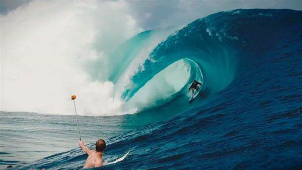 Nate Florence and Koa Rothman Duel At Teahupo'o