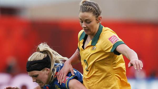 Larissa Crummer to Melbourne City, Victory behind the ball