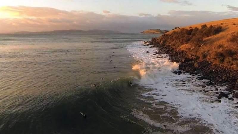 A Very Long Tasmanian Pointbreak