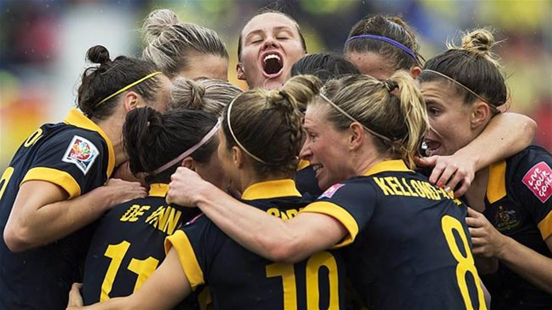 Matildas on verge of becoming full time athletes