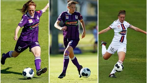 Perth Glory sign WA trio May, Carroll and Eastman
